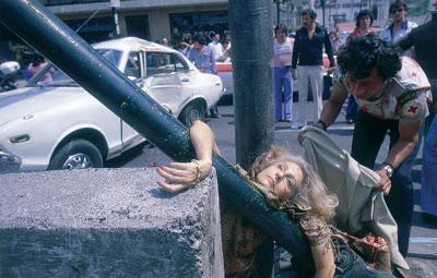 El cadaver de Adela Legarreta Rivas, por Enrique Metinides