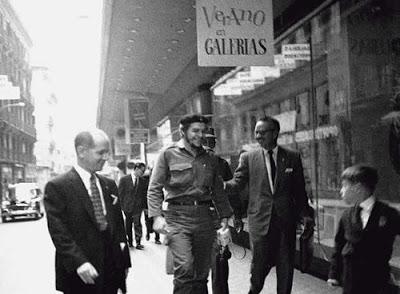 Ernesto Che Guevara en Madrid, España
