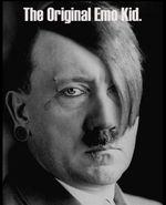 Hitler fue emo, el dominio mundial está en su sangre.