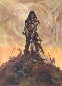 Conan visto por Frank Frazetta