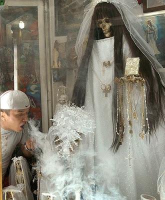 El culto a la Santa Muerte