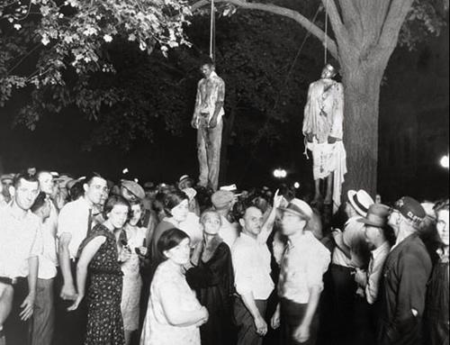 linchamiento de dos jóvenes negros en 1930