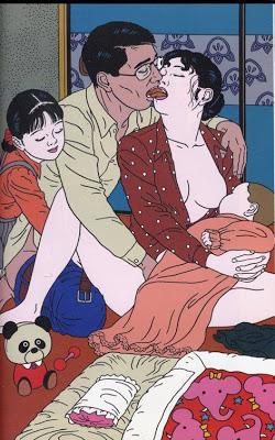 Las ilustraciones de Toshio Saeki