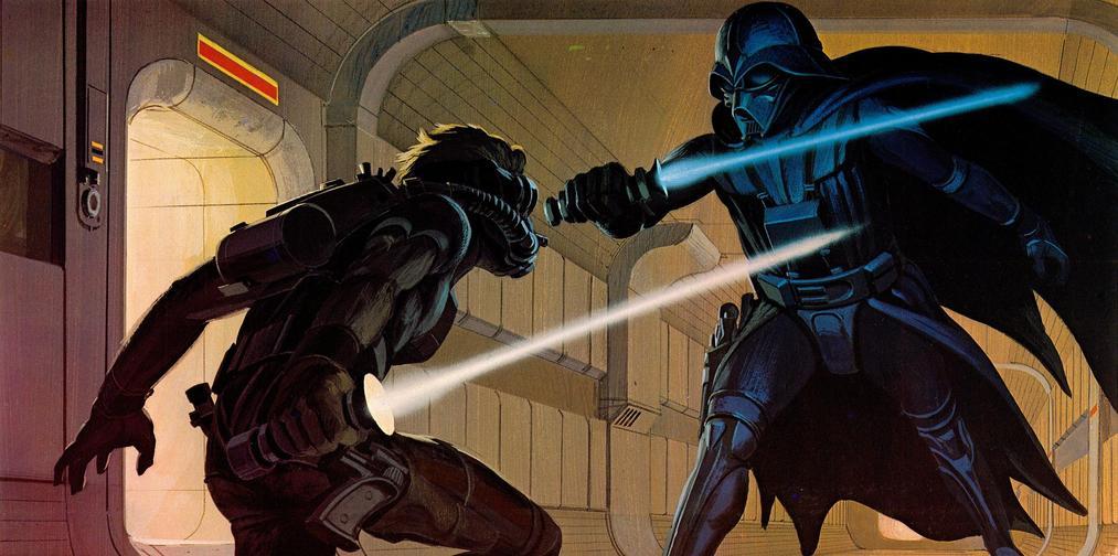Retro Star Wars Fan Illustrations