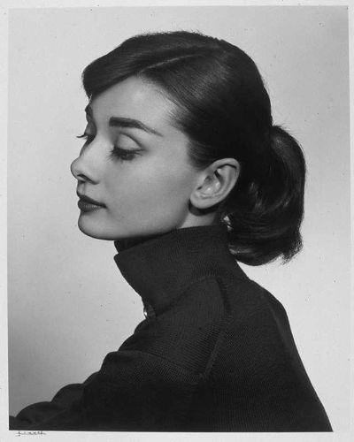 Yousuf Karsh - Hepburn por Père Ubu.