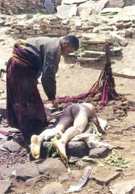 El Funeral Celeste Tibetano