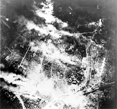El bombardeo de Tokio en la Segunda Guerra Mundial