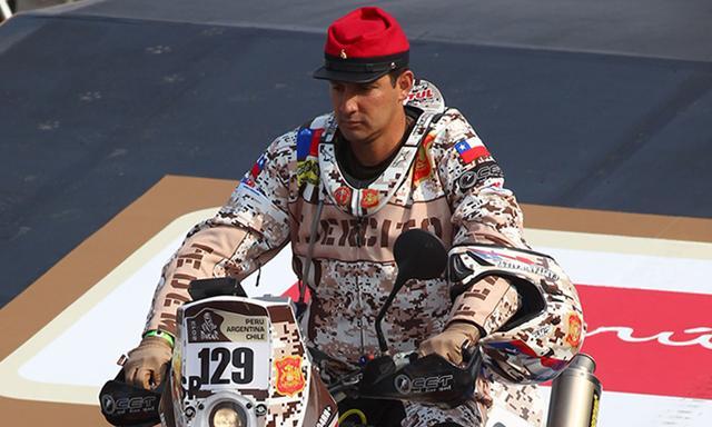 Este es el uniforme utilizado por el militar chileno.