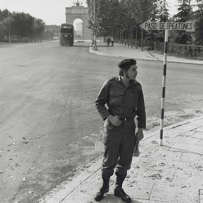 Ernesto Che Guevara en Madrid