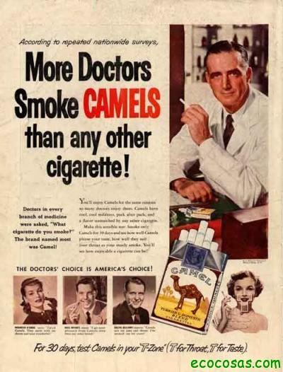 tabaco2 Engaños verdes