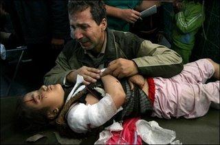 Niña asesinada en Gaza