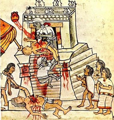 El Sacrificio Azteca